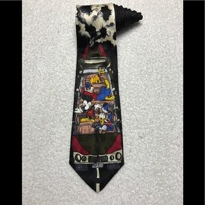 Disney Mickey Mouse Goofy Donald Duck Car Tie